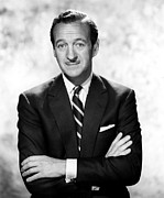1960s Portraits Framed Prints - David Niven, Ca. 1960s Framed Print by Everett