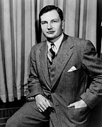 1950s Portraits Photo Prints - David Rockefeller B. 1915 Grandson Print by Everett