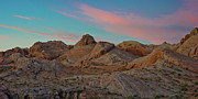 Las Vegas Landscape Framed Prints - Dawn - Valley of Fire Petrified Dunes Framed Print by Mark Christian