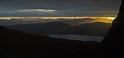 Wester Ross Prints - Dawn breaks over Loch Kishorn Print by Gary Eason