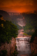 Inspiration Point Prints - Dawn Inspiration Print by Neil Shapiro