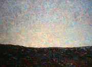 Palette Knife Posters - Dawn Poster by James W Johnson