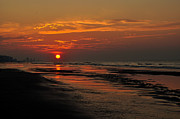 Myrtle Beach Prints - Dawn Of A New Day Print by Kathy Jennings