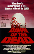 1970s Poster Art Framed Prints - Dawn Of The Dead, 1978 Framed Print by Everett