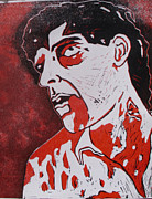 George Romero Paintings - Dawn of the dead print 4 by Sam Hane
