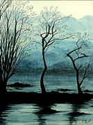 Fay Reid - Dawn on Lochlomond