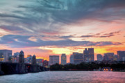 Charles River Photo Prints - Dawn on the Charles River Print by Susan Cole Kelly
