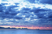 Begin Framed Prints - Dawn over False Bay 2 Framed Print by Neil Overy