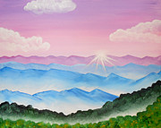 Felicity LeFevre - Dawn over Mountains