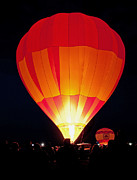 Spectator Photo Posters - Dawn Patrol Balloon Fiesta Poster by Jim Chamberlain