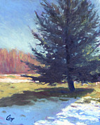 Day After Snowfall Print by Michael Camp