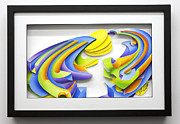 Color Reliefs Framed Prints - Day Framed Print by Jason Amatangelo
