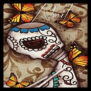 Instagroove Art - Day Of The Dead Art #abrilandrade by  Abril Andrade Griffith