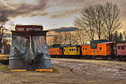 Caboose Framed Prints - Day of the Plow Framed Print by Joann Vitali