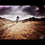 Bestoftheday Acrylic Prints - Day Off Rippin #mx In Norms Backyard Acrylic Print by Kyle Czapski