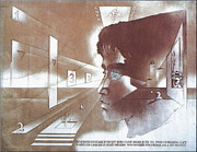 Perpective Framed Prints - Day-s Rising 1976 Framed Print by Glenn Bautista