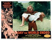 1956 Movies Photo Posters - Day The World Ended, The, Lori Nelson Poster by Everett