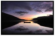 Killary Fjord Prints - daybreak at killary fjord Mayo Print by Ernie Watchorn