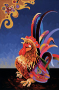 Abstracted Colorful Reality Posters - Daybreak Poster by Bob Coonts