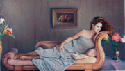 Lounge Pastels Prints - Daydream Believer Print by Patrick Anthony Pierson