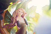 Fairies Art Photos - Daydreamer by Angelina Cornidez
