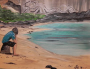 Puerto Rico Paintings - Daydreams by Patti Spires Hamilton