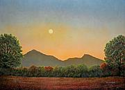 Gouache Paintings - Days Beginning by Frank Wilson