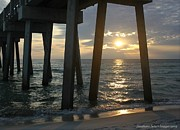 Panama City Beach Photo Originals - Days End by Sharon Ventimiglia