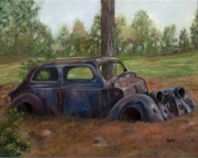 Wrecked Paintings - Days Gone By by Freida Petty