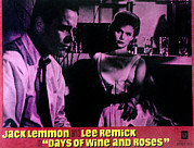 Art Of Wine Prints - Days Of Wine And Roses, Jack Lemmon Print by Everett