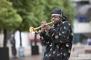 Trumpet Photo Originals - Dayton by Carl Deal