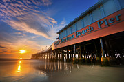 Daytona Sunrise Print by Ryan Heffron