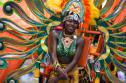 Dc Caribbean Carnival No 17 Print by Irene Abdou