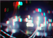Stereoscopy Photos - DC Lights - Use Red-Cyan 3D glasses by Brian Wallace