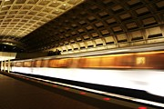 Smithsonian Prints - DC Metro Print by Heather Applegate