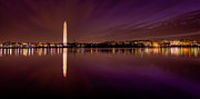 Patriot League Posters - DC Tidal Basin Pre-Dawn Poster by David Hahn