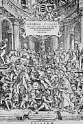 Andre Photos - De Humani Corporis Fabrica, Vesalius by Science Source