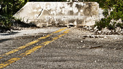 Old Roadway Metal Prints - Dead end street Metal Print by Blink Images