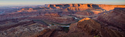 Fine American Art Posters - Dead Horse Point Panorama Poster by Andrew Soundarajan
