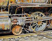 Rust Paintings - Dead In Its Tracks by Ferrel Cordle