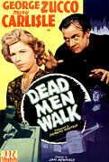 Horror Movies Framed Prints - Dead Men Walk, Top From Left Mary Framed Print by Everett