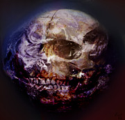 Dark Art Prints - Dead Planet Print by Vic Weiford