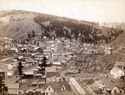 1880s Framed Prints - Deadwood From Engleside. Deadwood Framed Print by Everett