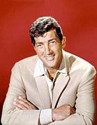 1960s Portraits Framed Prints - Dean Martin, Circa 1960s Framed Print by Everett