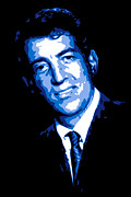 Dean Digital Art Framed Prints - Dean Martin Framed Print by DB Artist