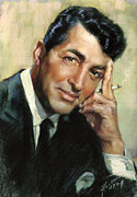 Rat Pack Art - Dean Martin by Ylli Haruni