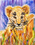 Animal Cards Originals - Dear Baby Lion by Connie Valasco