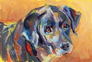 Soulful Eyes Paintings - Dear Ole Annie by Kimberly Santini