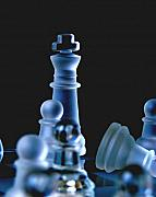 Chess Photos - Death and War  by Joe  Ng
