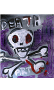 Graffiti Art Painting Originals - Death Art by Samuel Zylstra